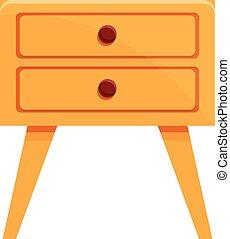 家, 家具, 漫画, スタイル, アイコン, 保温カバー