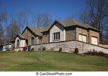 家, 岩が多い
