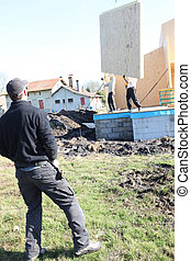 家, 建設