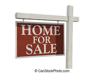 家, 待售, 房地產 標誌