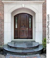 家, 戸口, 贅沢, 記入項目