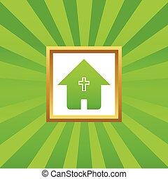 家, 映像, キリスト教徒, アイコン