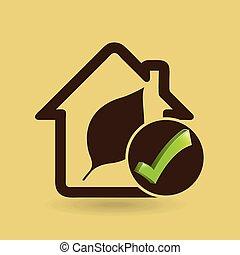 家, 概念, エコロジー