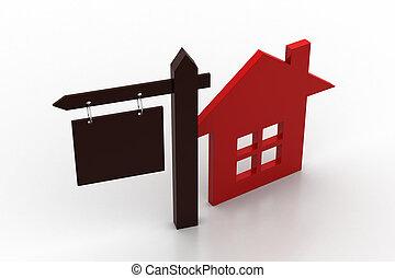 家, 概念, セール