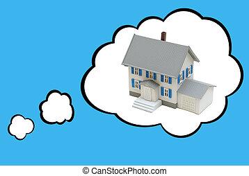 家, 概念, 夢