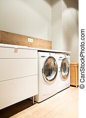 家, 洗濯物