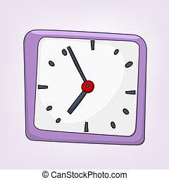 家, 漫画, 時計