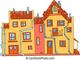 家, 漫画
