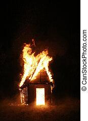 家, 燃焼