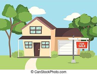 家, 特性, セール, ビジネス計画