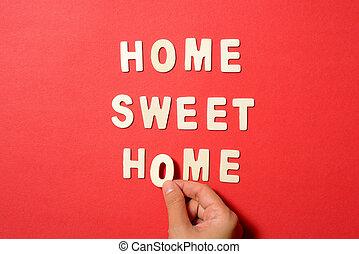 家, 甜, 正文