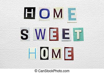 家, 甜, 簽署