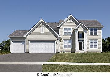 家, 由于, 晒黑, 支持, 以及, 拱形, 進入
