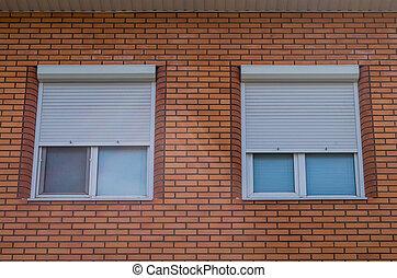 家, 窓, プラスチック