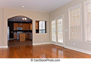 家, 窓, remodeled, ブラインド