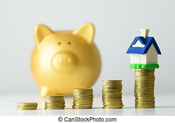 家, 節約は 計画する