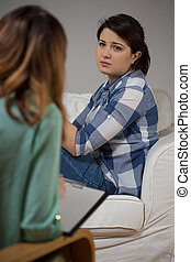 家, 精神療法, セッション
