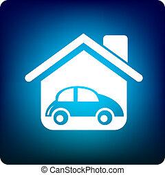 家, 自動車