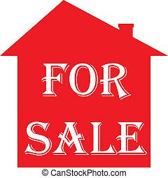 家, 販売サイン