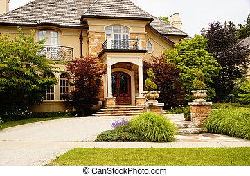 家, 贅沢, 豊富