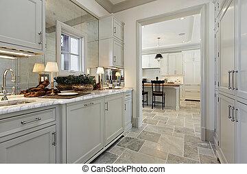 家, 贅沢, 食料貯蔵室