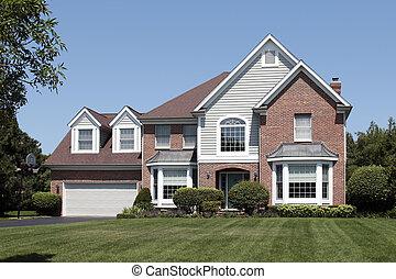 家, 郊外, アーチ形にされる, 記入項目