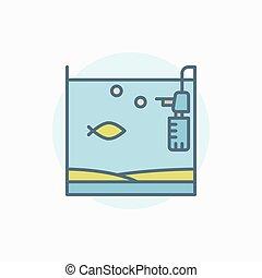 家, 魚吊錨器油罐, 鮮艷, 圖象