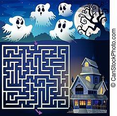 家, 3, 取りつかれた, 幻影, 迷路