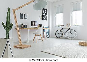 家, blogger's, オフィス