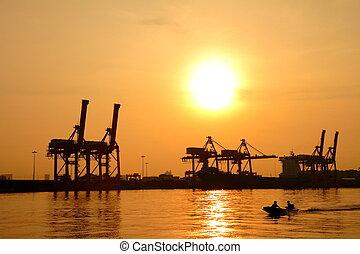 容器, 貨物, 貨運船