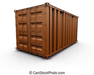 容器, 货物