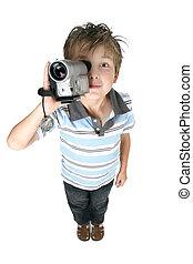 容易である, ビデオ, 楽しみ, 映画, 映像