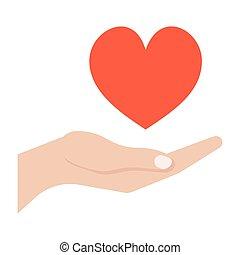 寄付, 概念, 愛