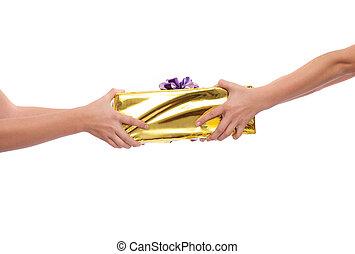 寄付, 贈り物