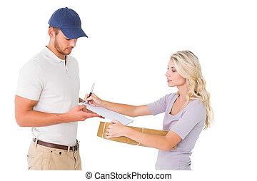 寄付, 顧客, 人, 出産, パッケージ, 幸せ