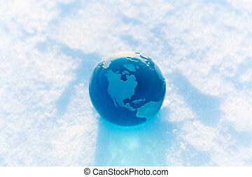 寒い, 世界的である