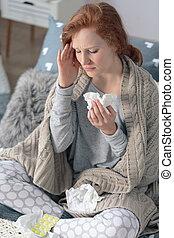 寒い, 季節, インフルエンザ