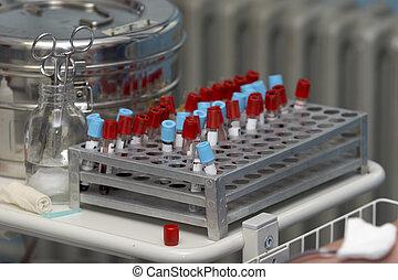實驗室, 驗血, 6