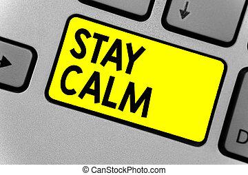寫, 筆記, 顯示, 停留, calm., 事務, 相片, showcasing, 保持, 在, a, 狀態,...