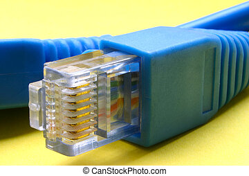 寬帶, 電纜, rj-4