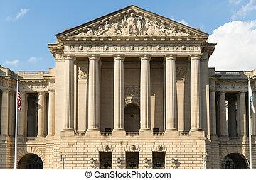 寶庫, 建築物, 華盛頓特區
