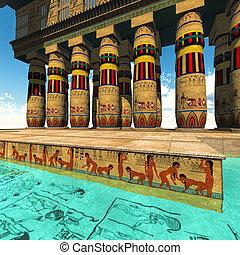 寺院, エジプト人