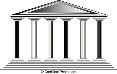 寺院, ギリシャ語