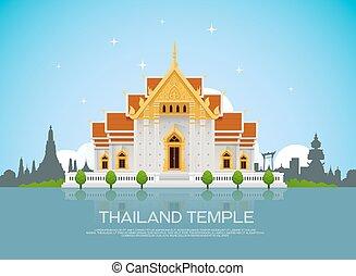 寺院, タイ