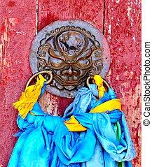 寺院, ドア
