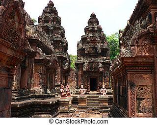 寺院, cambodia., 古代