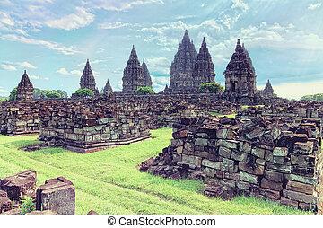 寺院, prambanan