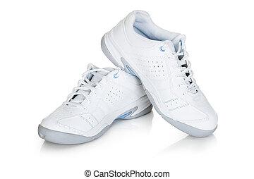 対, スポーツの靴