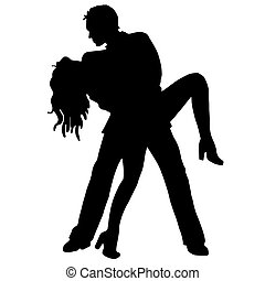 対, ダンス, latino