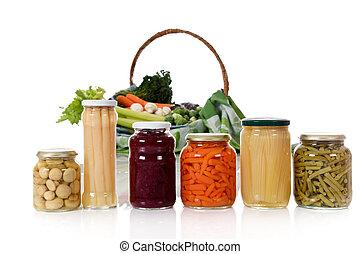 ∥対∥, 新鮮な野菜, 缶詰にされる